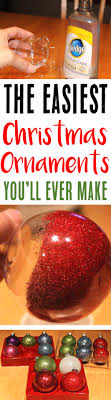 diy glitter ornaments with pledge easy the