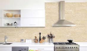 Ceramic Backsplash Tiles Beige Breccia 4x16