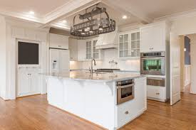 kitchen island with pot rack kitchen brilliant pot racks hanging lighted chandelier stainless