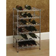 seville classics 12 bottle stackable wine rack she05110zb