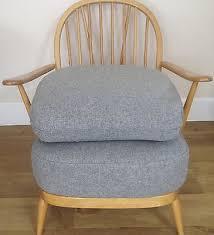 Ercol Armchair Cushions New Cushions U0026 Covers For Ercol Armchair In Abraham Moon U0027flint