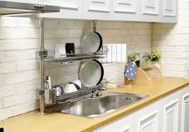 Kitchen Sink Racks Appealing Kitchen Sink Rack Ideas For Popular And Dish Inspiration