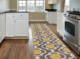 Yellow Kitchen Rug Runner Rugshop Moroccan Trellis Contemporary Indoor Area Rug