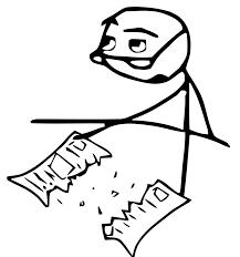 Meme Cereal Guy - cereal guy newspaper broke by rober raik on deviantart