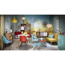 maison du monde küche buffet vintage en bois jaune gris blanc l 180 cm pendant ls