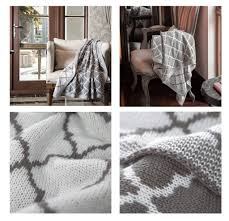 knitted throw blanket trellis pattern review best throw blanket