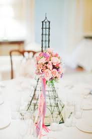 eiffel tower centerpieces eiffel tower centerpiece for dinner party with flower