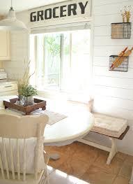 farmhouse kitchen u0026 breakfast nook tour little vintage nest