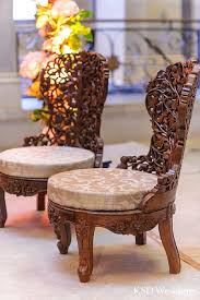 indian wedding chairs for and groom island ny indian wedding by ksd weddings maharani weddings