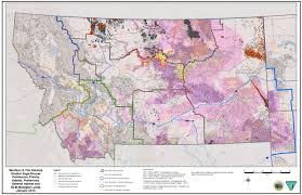 Montana Hunting Maps by Montana Legislature Environmental Quality Council