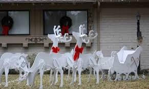 Christmas Reindeer Decorations Manufacturers by Deer Yard Decorations My Web Value