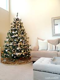 decorations magnificent christmas tree with cute gold star and