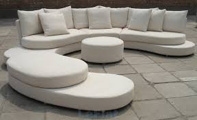 Curved Modular And Sectional Sofa Designs Laura Williams - Curved contemporary sofa living room furniture