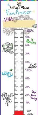 Thermometer Template Fundraising Goal Blank Printable Thermometer For Fundraising Template
