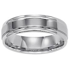 mens wedding rings white gold thin white gold wedding band theweddingpress