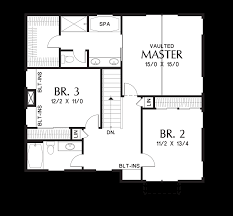 mascord house plan 22193es the forest park