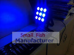 small flat led lights led par light 9x15w 5in1 rgbwa full color flat par can led stage