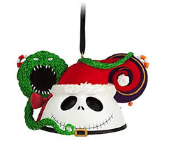 disney parks santa skellington mickey mouse ears