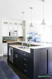 1383 best kitchens images on pinterest kitchen ideas kitchen 2017 fall home tour part i white kitchen with black island
