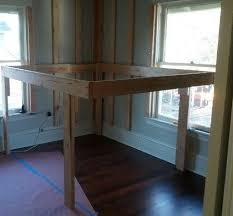 Elevated Bed Frames Diy Elevated Bed Frame With Storage Area Elevated Bed Bed