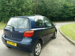 toyota yaris tsprit 1 0l 2004 1lady owner from new 10service mot