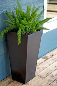 metal flower boxes wooden window boxes corrugated metal planter