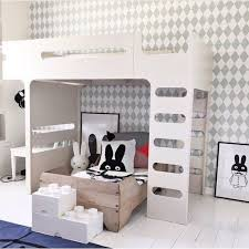 Modern Kids Rooms With Bunk Beds Petit  Small - Kids room bunk beds