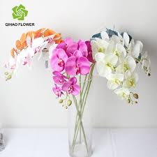 blue orchids for sale artificial plastic phalaenopsis flower hot sale silk orchids buy