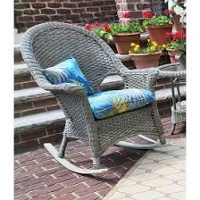 Resin Wicker Rocking Chair Wicker Rocking Chairs And Wicker Rockers
