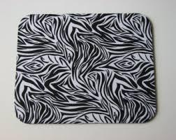 Zebra Desk Accessories Zebra Desk Decor Etsy