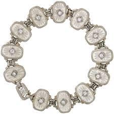 quartz diamond bracelet images Krementz co jewelry watches 13 for sale at 1stdibs jpg