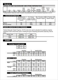school report template free school report templates fieldstation co