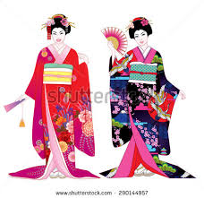 japanese geisha free vector stock graphics images