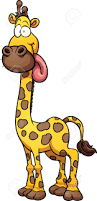 giraffe clipart silly pencil and in color giraffe clipart silly