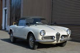 1962 alfa romeo giulietta spider stock 20869 for sale near