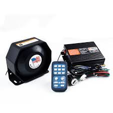 remote control police car with lights and siren police siren as920 200w waterproof car alarm siren horn wireless