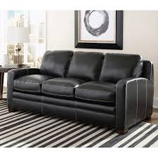 Black Leather Sleeper Sofa by Sofa Black Leather Sleeper Sofa Rueckspiegel Org