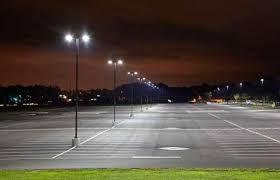 led parking lot lights vs metal halide led parking lot lighting shines as an energy saver relumination