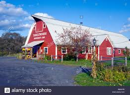Red Barn Restaurant Tanglewoods Restaurant And Bar In A Red Barn In Waterbury Vermont