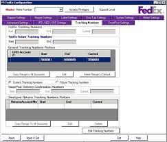 2 configuration of fedex ship manager server