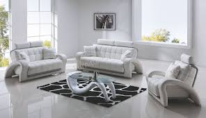 Modern Sofa Set White Imposing Ideas White Living Room Furniture Sets Cool And Opulent