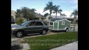 tiny house cargo trailer initial build pre camper conversion you