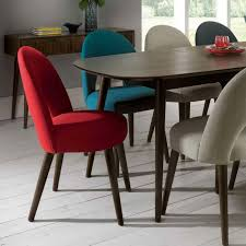 Fabric Dining Chairs Uk Spacious Fill Your Modern Dining Room With Fabulous Chairs