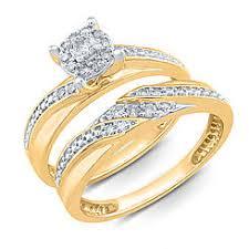 gold wedding set bridal sets wedding sets sears