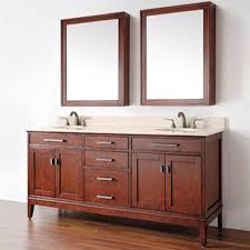 Bathroom Vanity Double Sinks Bathroom Contemporary Double Bathroom Vanities With Wall Cabinet