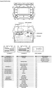 kia car radio stereo audio wiring diagram autoradio connector wire