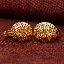 gold jhumka earrings hollow new designs gold jhumka earring buy gold