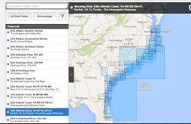 Florida Intracoastal Waterway Map by Marine Software Pioneers Transas Still In Good Shape