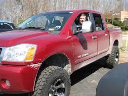 nissan truck titan red jimmoore 2005 nissan titan crew cab specs photos modification