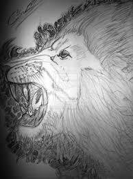 lion tattoo sketch by chef96 on deviantart smerking lion tattoo